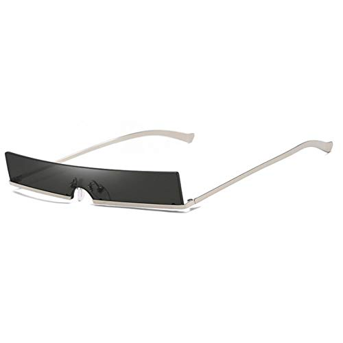 Populaires Frame Lunettes De Piece Rectangle One Soleil Grey Half Necct Small Red Femmes Fashion xE0wPRPYqz