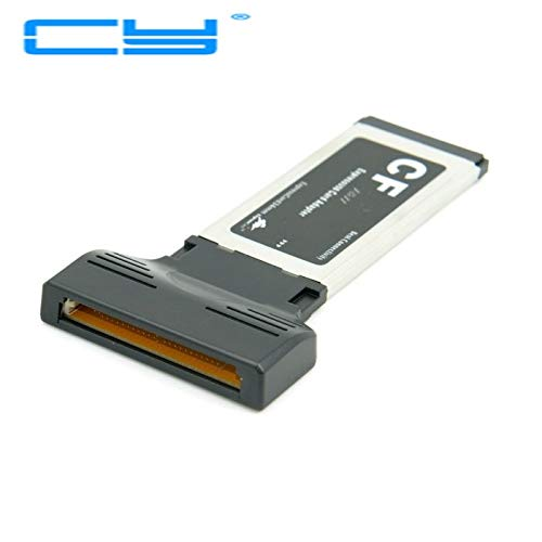 ShineBear Compact Flash CF expresscard Express Card Laptop Notebook 34mm Port & 5.52.5mm Right Angle Power Plug Charging 2pin Cable line - (Cable Length: Other) ()