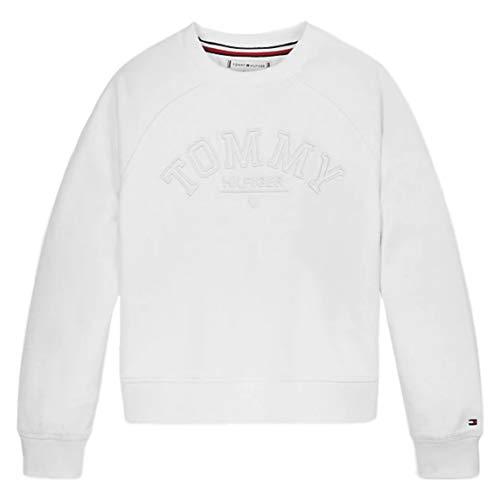 Tommy Hilfiger Meisjes Tonal geborduurd Graphic Crew Sweatshirt
