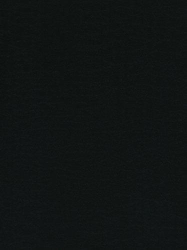 Friendly Felt - 12-Piece Kunin Eco-fi Friendlyfelt-Stiffened, 9-Inch by 12-Inch, Black