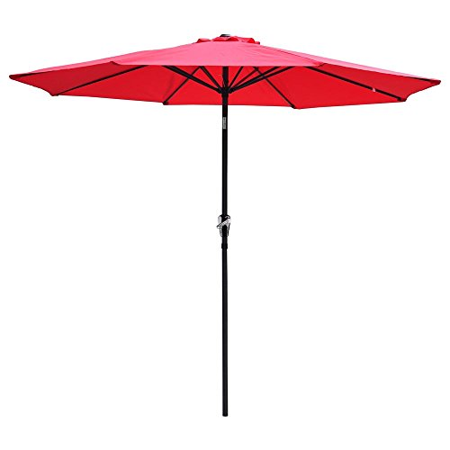 Yescom Aluminum Outdoor Umbrella Market