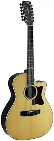 Guitarra folklórica CORT GA5FPF-12NS: Amazon.es: Instrumentos ...