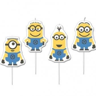 PST Pack Of 4 Minions Mini Figure