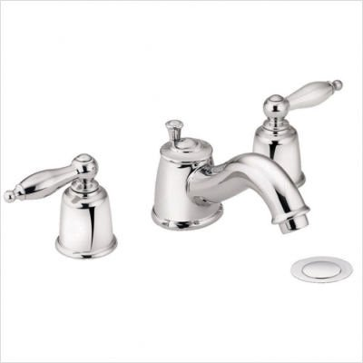 Castleby Two Handle Widespread Bathroom Faucet Finish: Brushed Nickel