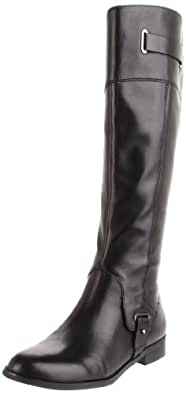 Etienne Aigner Women's Gilbert Riding Boot,Black,6 M US