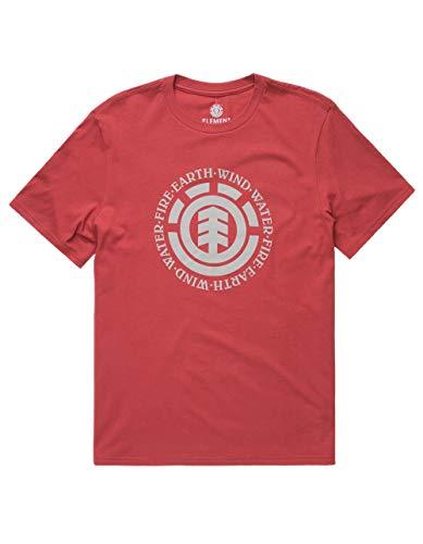 Element Seal (Element Seal T-Shirt, Brick, Small)