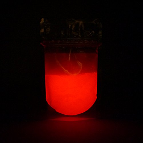glow in the dark red resin - 6