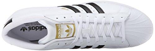 Modello Adidas Mens Pro, Bianco / Viola / Oro Metallizzato, 8,5 M Bianco / Nero / Bianco