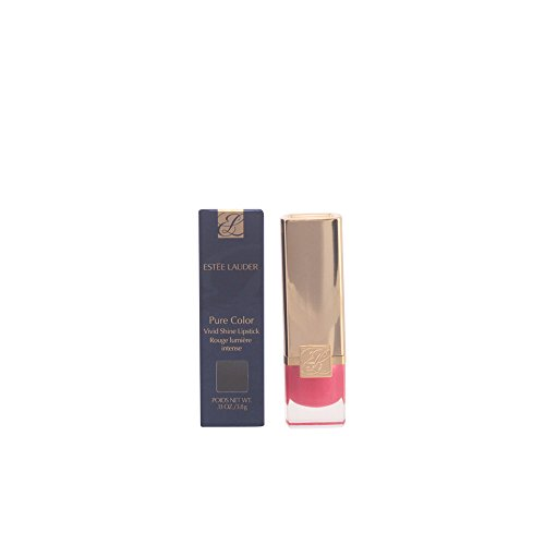 Estee Lauder Pure Color Long Lasting Lipstick, shade=Vivid Shine Pink Riot