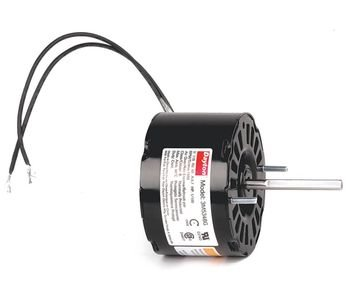 (Dayton 3M534 HVAC Motor, Shaded Pole, 1550 Nameplate RPM 115V, Frame 3.3, 1/100 hp)