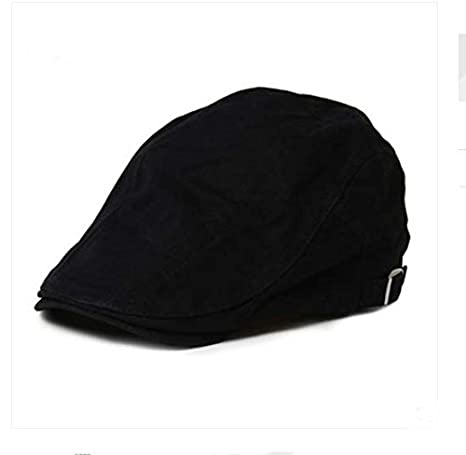 Hat Newsboy Hat avec sangle r/églable blanc Hommes de Gentry coton Fashion Casquette plate /& # xff0/C; Cabbie Hat /& # xff0/C; Gatsby Ivy Cap chasse