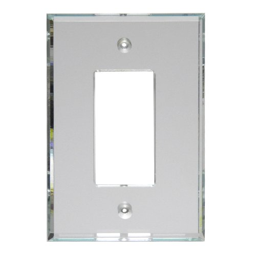 GlassAlike Decora (GFI) Acrylic Mirror Switch Plate (Cover Plate Renovation)