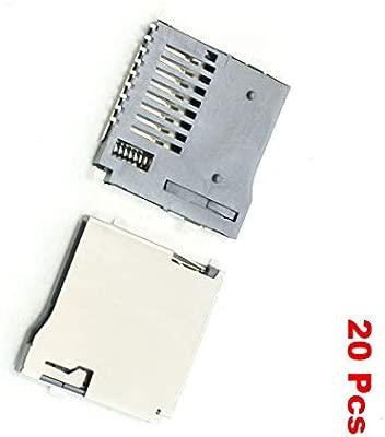 Aexit 20 pzas tipo Push / Push Tipo Transflash Ranuras para ...