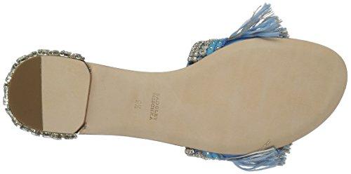 Badgley Mischka Kvinders Sharlene Flad Sandal Himmelblå K6IrD