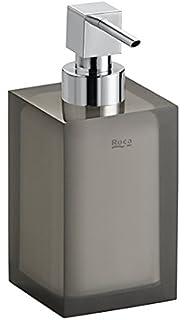 Roca A816861012 - Dosificador Ice Negro Complementos Del Baño, Metal