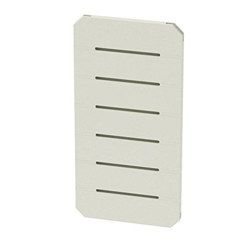 GOGO Panels - P2BW - Cream White - Half Panel 1' x 2' - 1 Panel