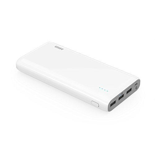 180 opinioni per Anker Astro E7 Batteria Esterna Massiva 26800mAh (3 Porte USB, 4A, PowerIQ) per