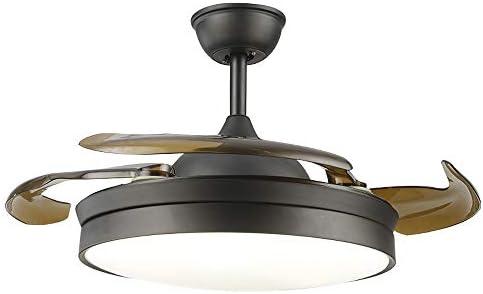 Etelux luz del ventilador de techo, Ventilador de Techo con luz ...