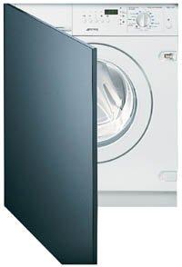 Smeg WDI16BA1 lavadora Carga frontal Integrado Negro, Blanco A ...