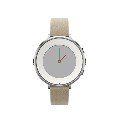 Pebble Time Round 14mm Smartwatch for Apple/Android Devices - Silver/Stone by Pebble Technology Corp (Image #9)