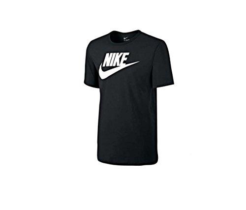 NIKE Men's Graphic T Shirt Cotton Black (Large)