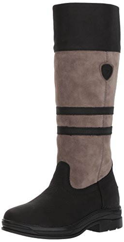 Ariat Women's Ambleside H2O Work Boot, Black, 8 B US by Ariat