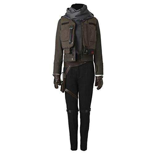 CosplayDiy Men's Suit for Jyn Erso Halloween Cosplay Costume B S