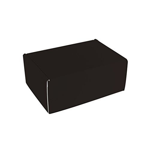 BoxUp Display Style Medium Shipping Box (Pack 12) (48, Black) (Custom Corrugated Boxes)