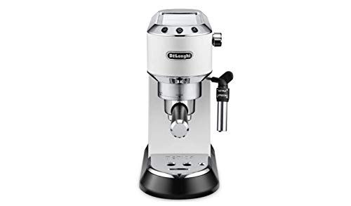 Delonghi EC685.W DEDICA 15-Bar Pump Espresso Machine Coffee