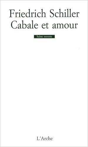 Livre gratuits Cabale et Amour epub, pdf