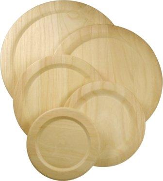 Holzteller 255mm Durchmesser ME 34698