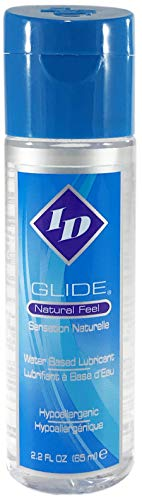 ID Glide 2.2 FL. OZ. Natural Feel Water-Based Personal Lubricant