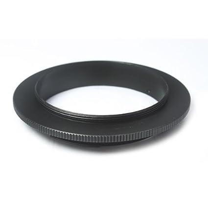Para Canon Eos Ef Objetivo de Cámara Anillo Adaptador 49mm Rosca Macro