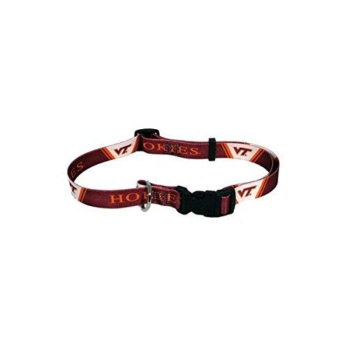 "Virginia Tech Hokies Small Pet Collar (10"" - 14"" L x 5/8"" W)"