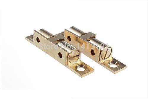 100 pieces 60mm brass cabinet Catch metal furniture Hardware part door catch door closer kitchen DIY household ball detent by Kasuki (Image #3)
