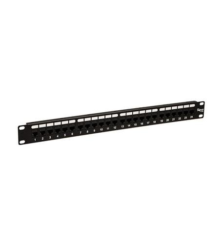 (ICC Patch Panel-Cat 5E- Feed-Thru 24-P-1Rms)