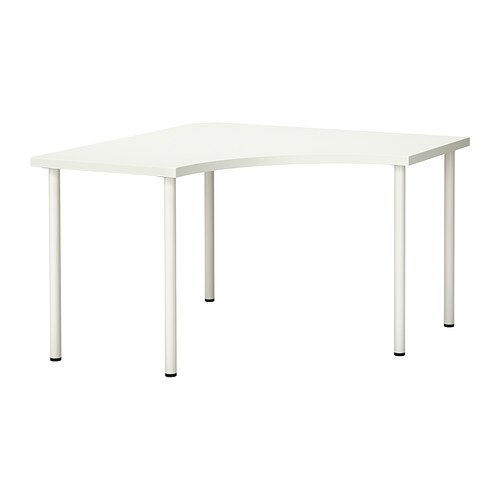 IKEA Corner Table, White 102020.1185.3022 by IKEA