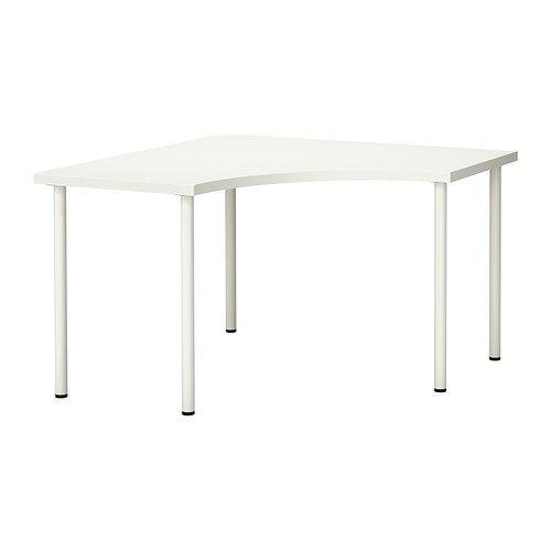 IKEA Corner Table, White - Desk Ikea Corner