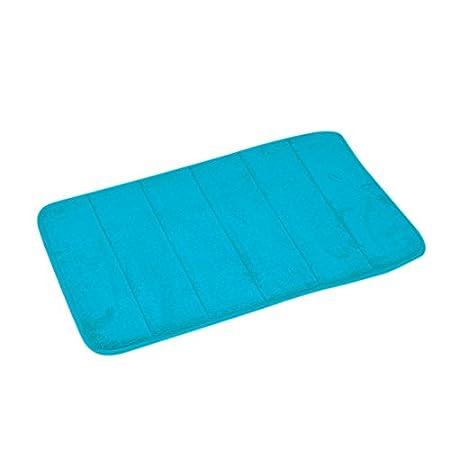 Douceur dInterieur 6GMB271TA Vitamine Tapis M/émoire de Forme Uni Polyester Taupe 60 x 40 x 1 cm