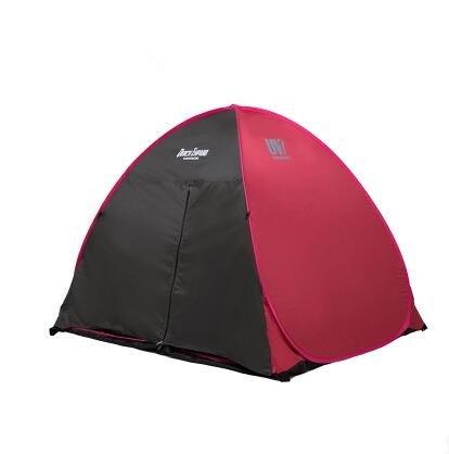 Camper Zelt Outdoor 2 Personen sind voll Automatische Ultraleichte Single Reisen Auto Sonnenschutz Strand-Zelte