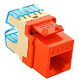 ICC ICC-IC1078F5OR Module Cat 5E HD Orange