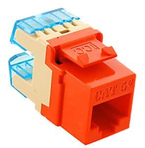 ICC ICC-IC1078F5OR Module Cat 5E HD Orange