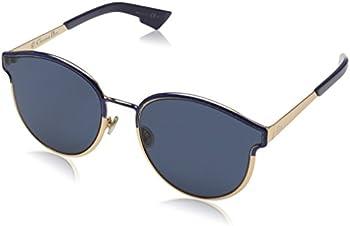 DIOR Dior Blue Geometric Ladies Sunglasses DIORSYMMETRIC NUM/A9 60