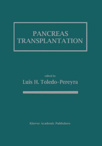 Pancreas Transplantation Pdf