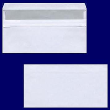 100 Stk Briefumschlag Dl C56 220x110mm 75gr Sk Of Weißformat