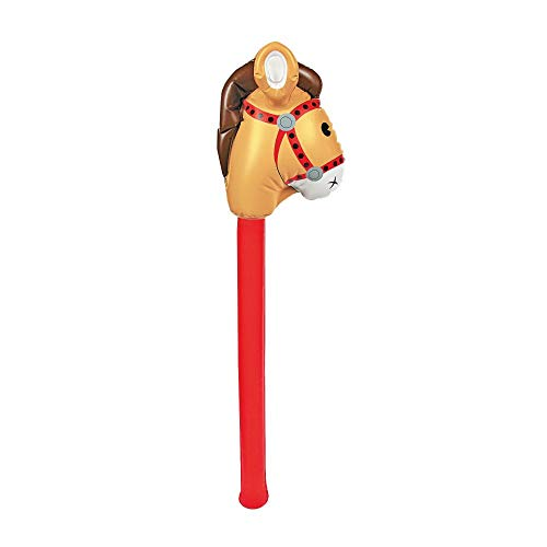 Fun Express - Inflatable Stick Horse -