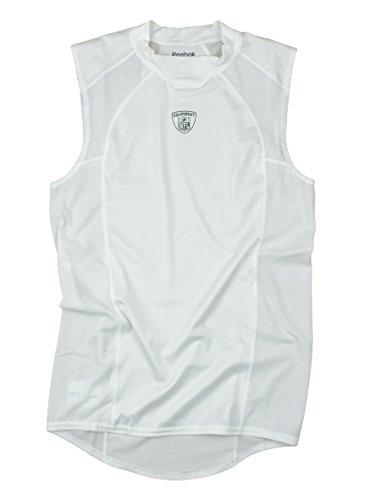 (Equipment NFL Men's Sleeveless Compression Shirt (Large, White))