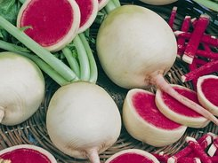 *Watermelon Red Radish 200 + Seeds GARDEN FRESH PACK By Seeds and Things