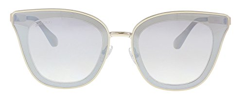 YG Light Gold Cat Eye Sunglasses for ()