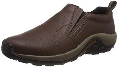 Merrell Jungle Moc Men's Walking Shoes, Brown, AU7